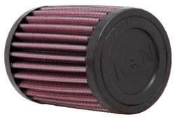 """K&N Filters - K&N Universal Air Filter - Round - 3"""" Diameter - 4"""" Tall - 1-1/2"""" Flange"""