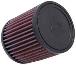 """K&N Filters - K&N Universal Air Filter - Round - 4-1/2"""" Diameter - 5"""" Tall - 2-11/16"""" Flange"""