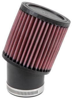 "K&N Filters - K&N Universal Air Filter - Round - 3-3/4"" Diameter - 4"" Tall - 2-7/16"" Flange"
