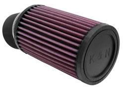 """K&N Filters - K&N Universal Air Filter - Round - 3-3/4"""" Diameter - 6"""" Tall - 2-7/16"""" Flange"""