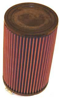 "K&N Filters - K&N Universal Air Filter - Round - 5"" Diameter - 8-1/2"" Tall - 3-1/2"" Flange"