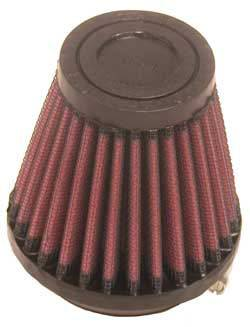 "K&N Filters - K&N Universal Air Filter - Conical - 3-1/8"" Base - 2"" Top - 3"" Tall - 2"" Flange"
