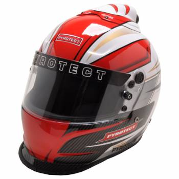 Pyrotect Pro Airflow Patriot Graphic Top Forced Air Duckbill Helmet