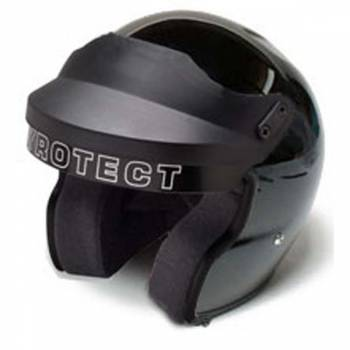 Pyrotect Pro Airflow Open Face Helmet - Gloss Black