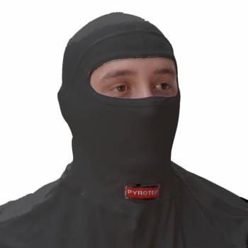 Pyrotect 2 Layer Nomex Head Sock - Single Eyeport - Black 432000200B