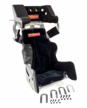 "ButlerBuilt Motorsports Equipment - ButlerBuilt® Sprint Advantage Slide Job Seat & Cover - 15.5"" - Flat Black"