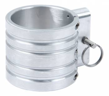 H3R Performance - H3R Performance Polished Billet Band Clamp for 100 Series Fire Extinguishers - 1.0 Lb, 1.4 Lb