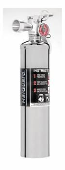 H3R Performance - H3R Performance HG250C - Chrome Halguard® Clean Agent Fire Extinguisher - 2.5 Lb