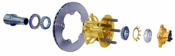 "Coleman Racing Products - Coleman Brake Rotor - .810"" x 11.75"" x 5 Bolt - IMCA"