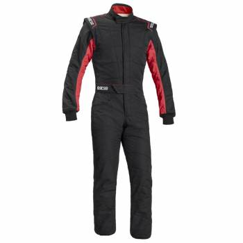 Sparco Sprint RS-2.1 Boot Cut Suit - Black/Red