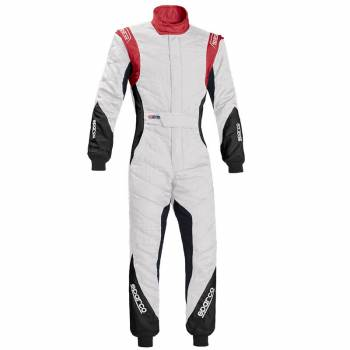 Sparco Eagle RS-8.1 Suit - White/Red - 0011272BNRR