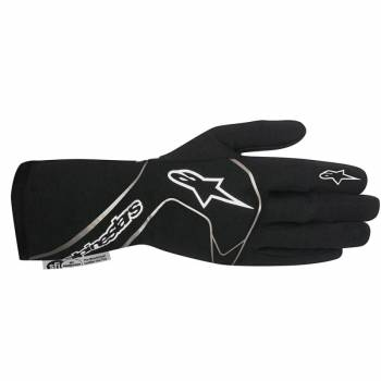 Alpinestars 2017 Tech 1 Race Glove - Black/White - 3551117-12B