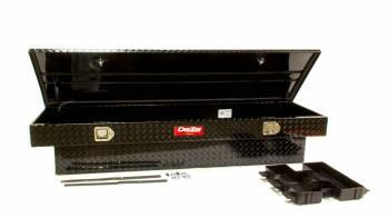 """Dee Zee - Dee Zee Red Label Truck Bed Tool Box Single Lid 69.75"""" Long 20"""" Wide - Aluminum"""