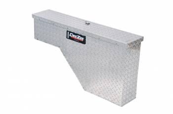 """Dee Zee - Dee Zee Passenger Side Truck Bed Tool Box Single Lid 37"""" Long 7-3/4"""" Wide - Aluminum"""