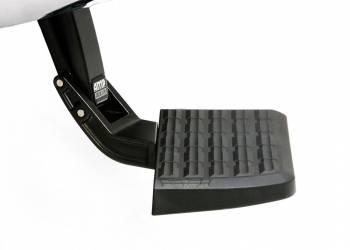 AMP Research - Amp Research BedStep Step Boards Bumper Mount Plastic Black - GM Fullsize Truck 2011-14