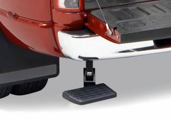 AMP Research - Amp Research BedStep Step Boards Bumper Mount Plastic Black - Dodge Fullsize Truck 2009-14