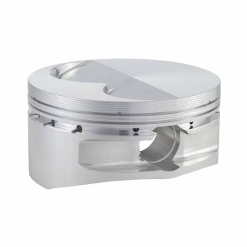 "CP Pistons - Carrillo - Cp Pistons - Carrillo 13 Degree Flat Top 400 Piston Forged 4.130"" Bore 0.043 x 0.043 x 3.0 mm Ring Grooves - Minus 8.8 cc - Small Block Chevy"