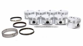 """CP Pistons - Carrillo - Cp Pistons - Carrillo 305 Sprint Flat Top Piston Forged 3.766"""" Bore 1.5 x 1.5 x 4.0 mm Ring Grooves - Minus 3.1 cc - Small Block Chevy"""