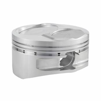 """CP Pistons - Carrillo - Cp Pistons - Carrillo 13 Degree Flat Top 400 Piston Forged 4.155"""" Bore 1.5 x 1.5 x 3.0 mm Ring Grooves - Minus 2.2 cc - Small Block Chevy"""