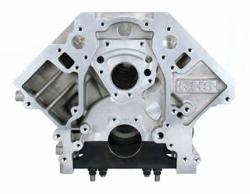 "Racing Head Service - Racing Head Service Bare Block Engine 4.120"" Bore 9.250 Deck Standard Main - 6-Bolt Mains"