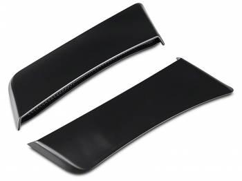 Roush Performance Parts - Roush Performance Parts Plastic Side Scoop Black Ford Mustang 2015 - Pair