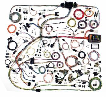 American Autowire - American Autowire Classic Update Complete Car Wiring Harness Complete - Mopar B-Body 1968-70