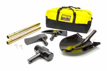 Hi-Lift Jack Company - Hi-Lift Jack Company Handle-All Utility Tool Kit Axe/Hammer/Pick Axe/Shovel - Storage Bag