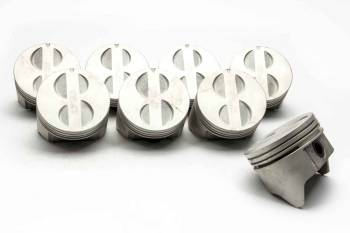 """Speed Pro - Speed Pro Cast Piston 4.030"""" Bore 5/64 x 5/64 x 3/16"""" Ring Grooves Small Block Ford - Set of 8"""