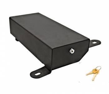 "Bestop - Bestop Passenger Side Underseat Storage Box Locking 16 x 5-3/4 x 2-7/8"" Steel - Black Powder Coat"