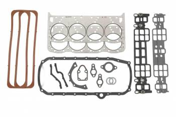 GM Performance Parts - GM Performance Parts Full Engine Gasket Set Small Block Chevy - Fast Burn 385/ZZ5/ZZ383/Circle Track Engine