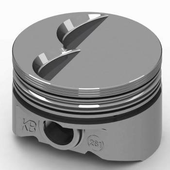 "KB Performance Pistons - KB Performance Pistons KB Series Piston Hypereutectic 4.030"" Bore 5/64 x 5/64 x 3/16"" Ring Grooves - Minus 6.5 cc"