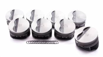 "KB Performance Pistons - KB Performance Pistons Claimer Series Piston Hypereutectic 4.060"" Bore 5/64 x 5/64 x 3/16"" Ring Grooves - Minus 5.0 cc"