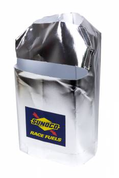 Sunoco Race Jugs - Sunoco Race Jugs Heat Reflective Plastic Fuel Can Cover Silver - 5 Gallon Square Fuel Cans