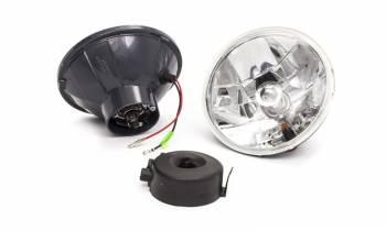 "Racing Power - Racing Power 7"" OD Headlight H4 Bulb Amber Turn Signal Bulb Glass/Steel - Universal"
