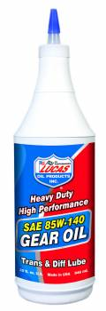Lucas Oil Products - Lucas Oil Products Heavy Duty Gear Oil 85W140 Conventional 1 qt - Set of 12
