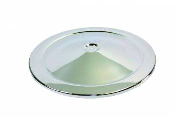 """Specialty Chrome - SPECIALTY CHROME High Dome Air Cleaner Lid 14"""" Round Steel Chrome - Each"""