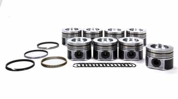 """Mahle Motorsports - Mahle Motorsports PowerPak Piston and Ring Forged 4.075"""" Bore 3.0 x 2.0 x 3.0 mm Ring Groove - Plus 40.8 cc"""