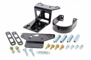 Detroit Speed Engineering - Detroit Speed Engineering Front Driveshaft Loop Bolt-On Steel Black Powder Coat - Chevy Camaro 2010-14