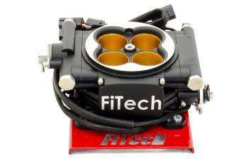 FiTech - FiTech Go EFI 8 Power Adder Fuel Injection Throttle Body Square Bore 70 lb/hr Injectors - Nitrous Control