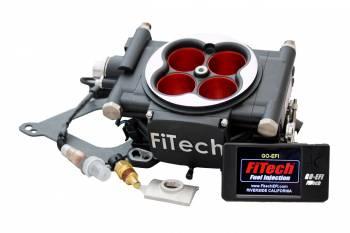 FiTech - FiTech Go EFI 4 Power Adder Fuel Injection Throttle Body Square Bore 70 lb/hr Injectors - Nitrous Control