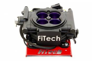 FiTech - FiTech MeanStreet Fuel Injection Throttle Body Square Bore 55 lb/hr Injectors - Aluminum