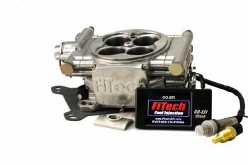 FiTech - FiTech Go EFI 4 Fuel Injection Throttle Body Square Bore 70 lb/hr Injectors - Aluminum