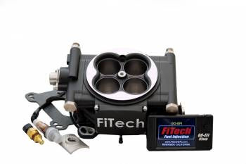 FiTech - FiTech Go EFI 4 Fuel Injection Throttle Body Square Bore 70 lb/hr Injectors