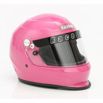 RaceQuip - RaceQuip PRO15 Helmet Full Face Snell SA 2015 Head and Neck Support Ready - Hot Pink