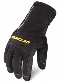 Ironclad Performance Wear - Ironclad Shop Gloves Cold Condition Waterproof Insulated/Reinforced Fingertips and Palm Neoprene Closure - Neoprene