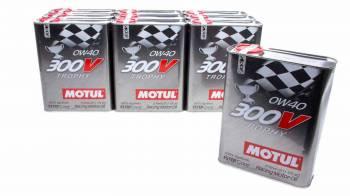 Motul - Motul 300V Trophy Motor Oil 0W40 Synthetic 2 L - Set of 10