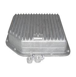 Transmission Specialties - Transmission Specialties Deep Sump Transmission Pan Finned Aluminum Natural - TH350