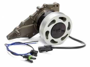 "Meziere Enterprises - Meziere Enterprises Electric Water Pump Street Style 1"" NPT Inlet Gaskets/Hardware/Wiring - Aluminum"