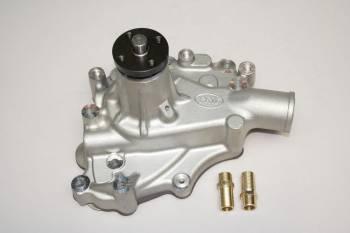 "PRW Industries - PRW INDUSTRIES Mechanical Water Pump High Performance 5/8"" Shaft Aluminum - Natural"