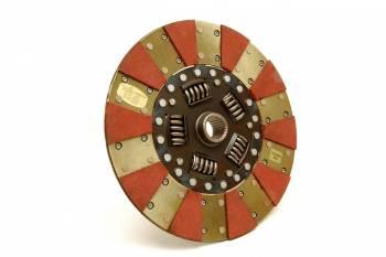 "Centerforce - Centerforce Dual Friction Clutch Disc 11"" Diameter 1-1/8"" x 26 Spline Sprung Hub - Organic/Carbon Composite"